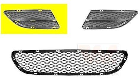 Grille de ventilation, pare-chocs - VAN WEZEL - 0667592