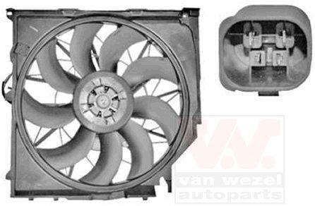 Ventilateur, refroidissement du moteur - VAN WEZEL - 0680747