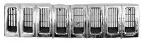Grille de radiateur - VAN WEZEL - 0710510
