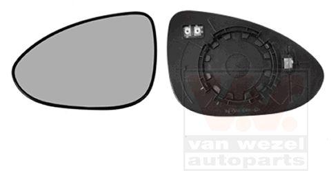 Verre de rétroviseur, rétroviseur extérieur - VWA - 88VWA0817837