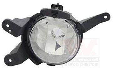 Projecteur antibrouillard - VAN WEZEL - 0820995