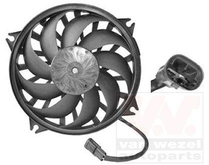 Ventilateur, refroidissement du moteur - VAN WEZEL - 0905745