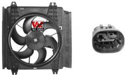 Ventilateur, refroidissement du moteur - VAN WEZEL - 0910747