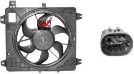Ventilateur, refroidissement du moteur - VAN WEZEL - 0910748