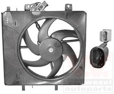 Ventilateur, refroidissement du moteur - VAN WEZEL - 0917746