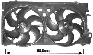 Ventilateur, refroidissement du moteur - VAN WEZEL - 0936749