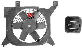 Ventilateur, refroidissement du moteur - VAN WEZEL - 0950747