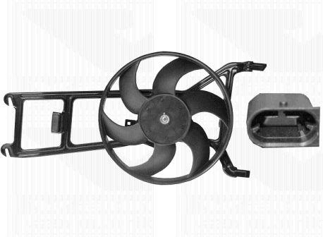Ventilateur, refroidissement du moteur - VAN WEZEL - 0951745