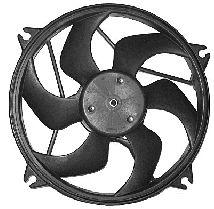 Ventilateur, refroidissement du moteur - VAN WEZEL - 0904746