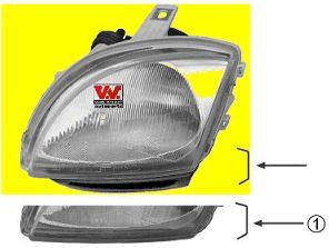 Projecteur principal - VAN WEZEL - 1601963M