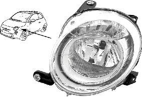 Projecteur principal - VWA - 88VWA1604961M