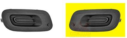 Grille de ventilation, pare-chocs - VAN WEZEL - 1607591
