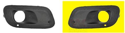 Grille de ventilation, pare-chocs - VAN WEZEL - 1607593