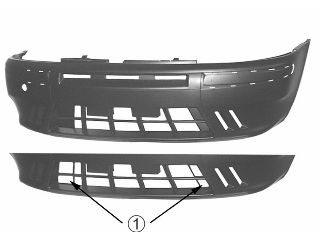 Pare-chocs - VAN WEZEL - 1620575