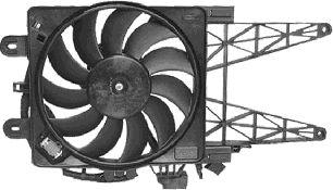 Ventilateur, refroidissement du moteur - VAN WEZEL - 1620747