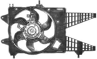 Ventilateur, refroidissement du moteur - VAN WEZEL - 1620748