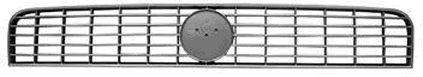 Grille de radiateur - VAN WEZEL - 1624510