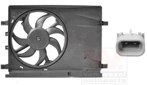 Ventilateur, refroidissement du moteur - VAN WEZEL - 1624746