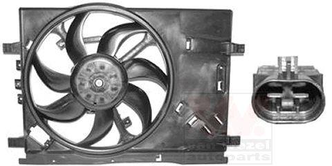 Ventilateur, refroidissement du moteur - VAN WEZEL - 1624747