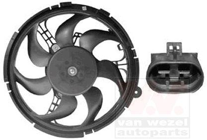 Ventilateur, refroidissement du moteur - VAN WEZEL - 1625744