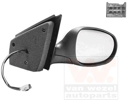 Rétroviseur extérieur - VAN WEZEL - 1629808