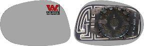 Verre de rétroviseur, rétroviseur extérieur - VAN WEZEL - 1629837