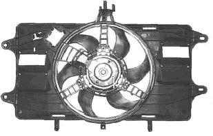 Ventilateur, refroidissement du moteur - VAN WEZEL - 1636746