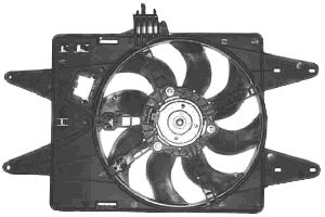 Ventilateur, refroidissement du moteur - VAN WEZEL - 1636747