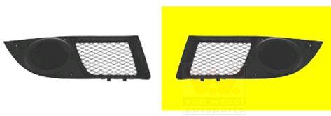 Grille de ventilation, pare-chocs - VAN WEZEL - 1637591
