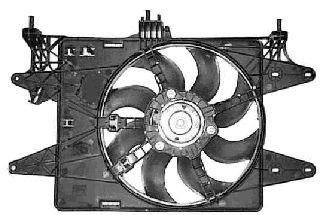 Ventilateur, refroidissement du moteur - VAN WEZEL - 1637747