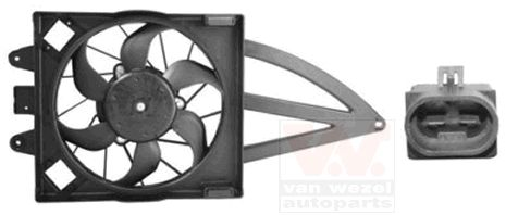 Ventilateur, refroidissement du moteur - VAN WEZEL - 1709747