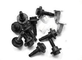 Kit d'assemblage, pare-chocs - VAN WEZEL - 1754793