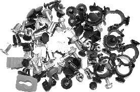 Kit de montage, choc avant - VAN WEZEL - 1754795