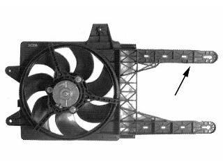 Ventilateur, refroidissement du moteur - VAN WEZEL - 1755748