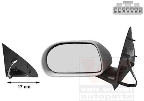 Rétroviseur extérieur - VAN WEZEL - 1757807