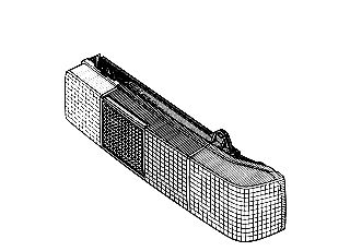 Feu arrière - VAN WEZEL - 1758931