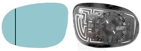 Verre de rétroviseur, rétroviseur extérieur - VAN WEZEL - 1787838