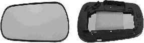 Verre de rétroviseur, rétroviseur extérieur - VAN WEZEL - 1805832