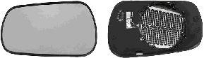 Verre de rétroviseur, rétroviseur extérieur - VAN WEZEL - 1805862