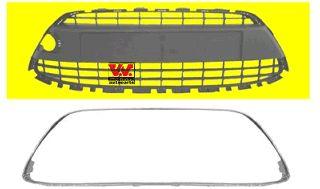 Grille de ventilation, pare-chocs - VAN WEZEL - 1807599