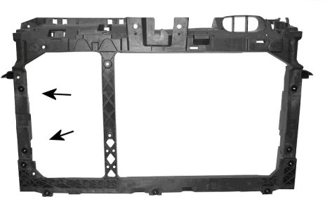Revêtement avant - VAN WEZEL - 1807678