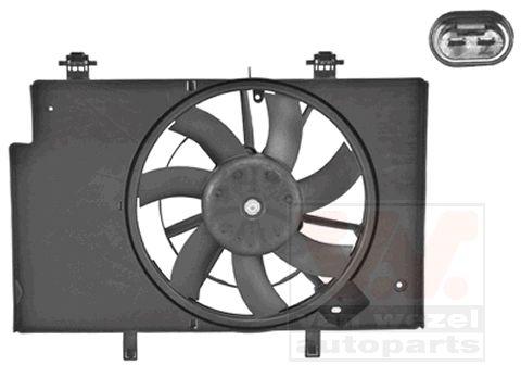 Ventilateur, refroidissement du moteur - VAN WEZEL - 1807746