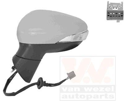 Rétroviseur extérieur - VAN WEZEL - 1807805