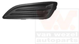 Grille de ventilation, pare-chocs - VAN WEZEL - 1808591