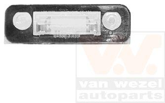 Feu éclaireur de plaque - VAN WEZEL - 1825920