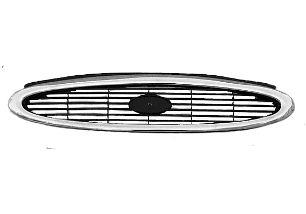 Grille de radiateur - VAN WEZEL - 1826518