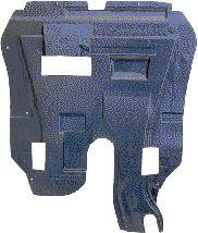 Insonoristaion du compartiment moteur - VAN WEZEL - 1828701