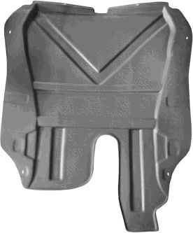 Insonoristaion du compartiment moteur - VAN WEZEL - 1828702