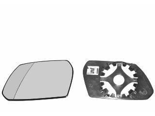 Verre de rétroviseur, rétroviseur extérieur - VAN WEZEL - 1828838