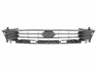 Grille de radiateur - VAN WEZEL - 1831510
